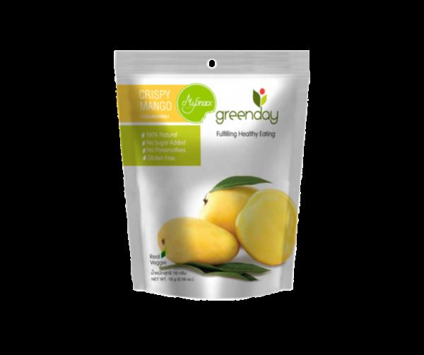 Crispy mango logo vasakul