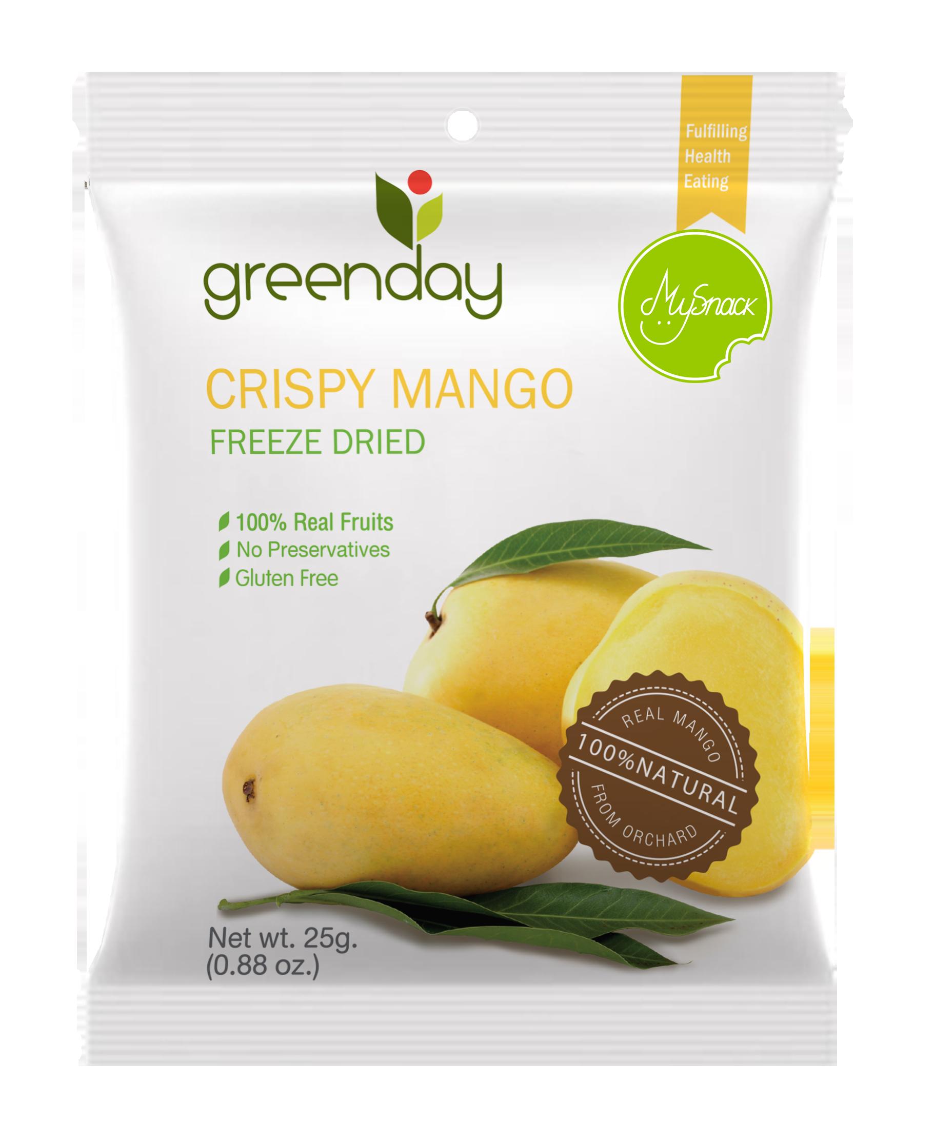 H-crispy mango25g